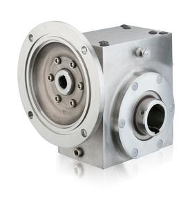 GROVE SS-HMQ821-10-H-140-XX STAINLESS H2 RIGHT ANGLE GEAR REDUCER S2130495XX