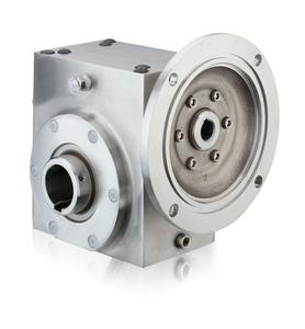 GROVE SS-HMQ821-25-H-56-XX STAINLESS H1 RIGHT ANGLE GEAR REDUCER S2130462XX