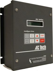40HP LENZE MC SERIES NEMA1 VFD 400-480VAC 3PH INPUT M14400B