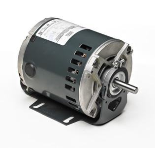 1//3 hp 1 Speed 1 Split Phase 115 VAC Ball Bearing 1725 rpm Marathon 4383 56Z Frame Open Drip Proof 5KH39QN9513X Belt Drive Motor Resilient Ring Mount Marathon Electric M4383