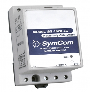 SymCom ISS-102A-LC 2-Ch Intrinsically-Safe Switch
