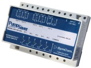 SymCom ISS-105 5-Ch Intrinsically-Safe Switch