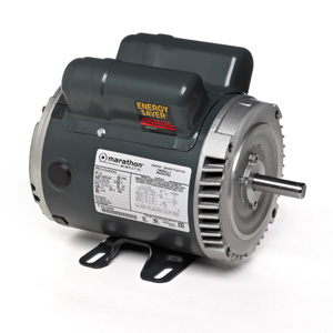 1HP MARATHON 1725RPM 56C 100-120/200-240V DP 1PH MOTOR EG277