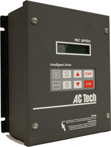 40HP LENZE MC SERIES VFD 400-480VAC 3PH INPUT M14400D