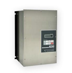 1HP LENZE MC SERIES NEMA4X (STAINLESS) VFD 400-480VAC 3PH INPUT M1410E