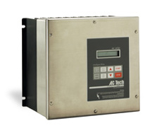 2HP LENZE MC SERIES NEMA4X (STAINLESS) VFD 230VAC-1PH INPUT M1220SE