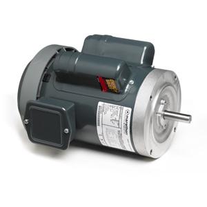 1HP MARATHON 1725/1425RPM 56C 100-120/200-240V TEFC 1PH MOTOR EG283