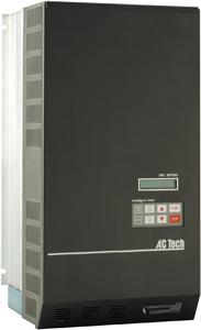 5HP LENZE MCH SERIES NEMA1 VFD 200-240VAC 3PH INPUT MH250B