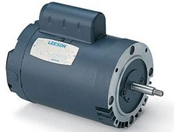 3/4HP LEESON 3450RPM 56J DP 1PH PUMP MOTOR 100208.00