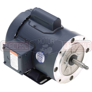 1HP LEESON 3600RPM 56J TEFC 1PH PUMP MOTOR 113957.00