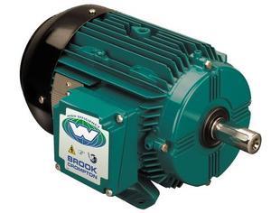 10HP BROOK CROMPTON 1800RPM 132M 575V B3 3PH IEC MOTOR BA4M010-5