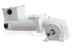 1/4HP LEESON 125RPM TENV 12VDC EPOXY WASHGUARD GEARMOTOR M1125281.00