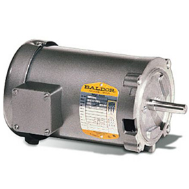 5HP BALDOR 3450RPM 56C OPEN 3PH MOTOR 35B15-1660