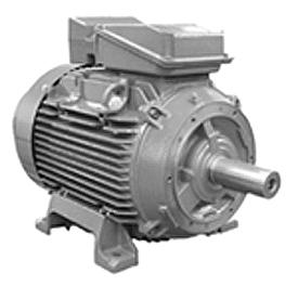 5.5HP BROOK CROMPTON 1000RPM W-DF132M 380-415V IEC 3PH MOTOR 287E309WC-00