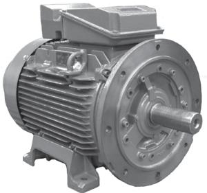 1HP BROOK CROMPTON 1500RPM W-DF80M 380-415V IEC 3PH MOTOR 287E205WC-04