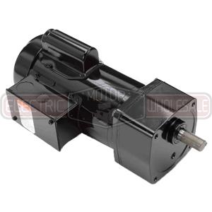 1/3HP LEESON 85RPM TEFC 115/230VAC PE350 PARALLEL GEARMOTOR 096050.00