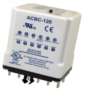 ACBC-120 Alarm Controller/Batt Charger