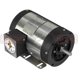 2HP LEESON 1800RPM 145TC TEFC 3PH MOTOR 121913.00