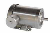 1HP LEESON 1740RPM 56C TEFC 3PH WG MOTOR 117903