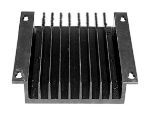 BALDOR BC143 AUXILIARY HEAT SINK