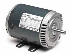 1HP MARATHON 1800RPM 143TC 208-230/460 DP 3PH MOTOR K2021