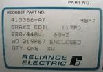 RELIANCE 413366-AT BRAKE COIL