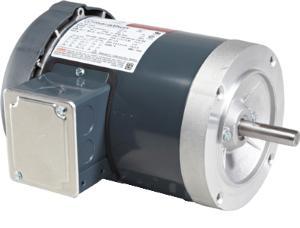 1.5HP MARATHON 3600RPM 143TC 208-230/460V TEFC 3PH MOTOR C201