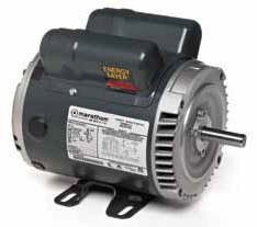 3HP MARATHON 1800RPM 184TC 208-230V DP 1PH MOTOR I305
