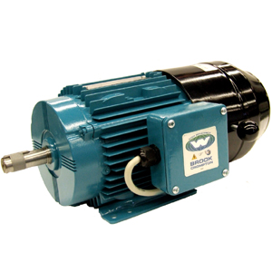 3/4HP BROOK CROMPTON 1800RPM 80 3PH IEC B3 MOTOR BA4M.75-4BRK
