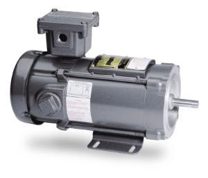 1HP BALDOR 1750RPM 56C XPFC 180VDC MOTOR CDPX3555