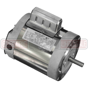 3/4HP LEESON 1800RPM 56C TENV 1PH MOTOR 117496.00