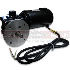 1/8HP BALDOR 60RPM TENV 90VDC FLANGED GEARMOTOR 24A780Z038G1