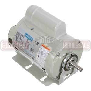 1/3HP LEESON 1725RPM 48 DP 1PH MOTOR A090405.00