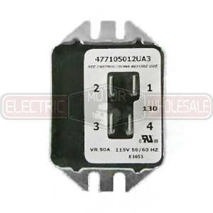 002788.02 LEESON 115V 50A SOLID STATE SINPAC SWITCH
