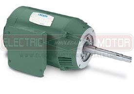 1.5HP LEESON 3600RPM 143JMV DP 3PH MOTOR 122075.00