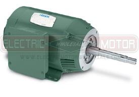 1.5HP LEESON 1800RPM 143JM DP 3PH MOTOR 122076.00