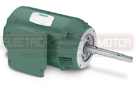 1.5HP LEESON 1800RPM 143JMV DP 3PH MOTOR 122077.00