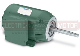 2HP LEESON 3600RPM 145JM DP 3PH MOTOR 122078.00