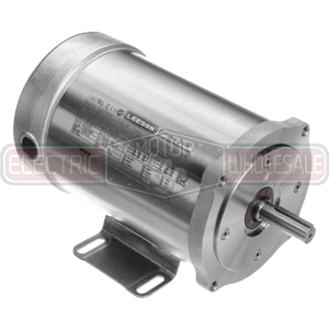 3/4HP LEESON 1200RPM 56C TENV 3PH MOTOR 119267.00