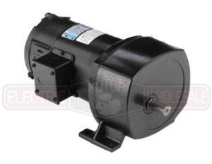 1/2HP LEESON 60RPM TEFC 90VDC P1100 SERIES PARALLEL GEARMOTOR 108710.00