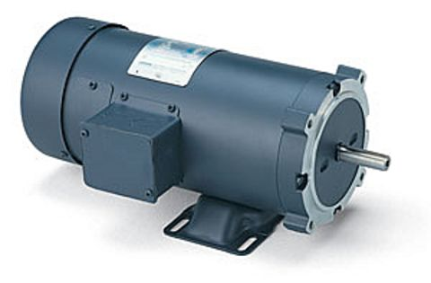 Leeson 108019 3 4hp motor c4d17fk4h for 5 hp tefc motor