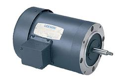 3/4HP LEESON 3450RPM 56J TEFC 3PH MOTOR 114208