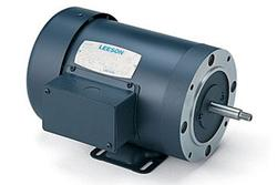 1.5HP LEESON 3450RPM 56J TEFC 3PH MOTOR 113030.00