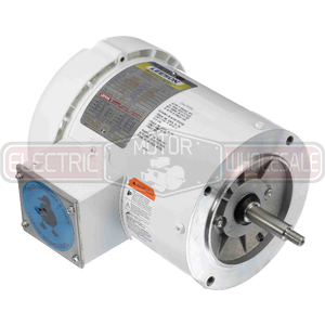 1HP LEESON 3600RPM 56J TEFC 3PH MOTOR 116775.00