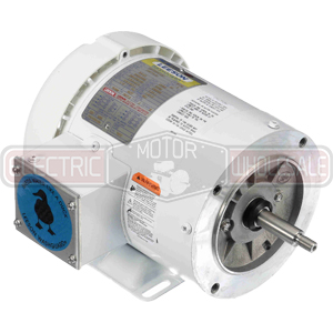 3/4HP LEESON 3600RPM 56J TEFC 3PH MOTOR 116779.00