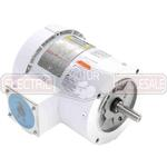 1HP LEESON 1800RPM 56C TEFC 3PH MOTOR 119468.00