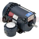1HP LEESON 1200RPM 56 EPFC 3PH MOTOR 119737.00