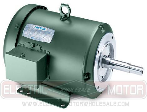 Leeson 199768 5hp motor c184t34fk49 for Hazardous location motor starter