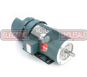 1.5HP LEESON 1800RPM 145TC TEFC 3PH BRAKE MOTOR 122249.00