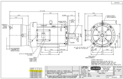 Leeson 10 Hp Motor Wiring Diagram Best 2018. Leeson Single Phase Motor Wiring Diagram Best Of Farm Duty. Wiring. Wiring Baldor Diagram Motor L3510t At Scoala.co